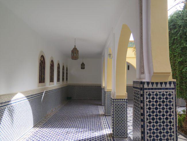 Azulejos de tipo andalusí