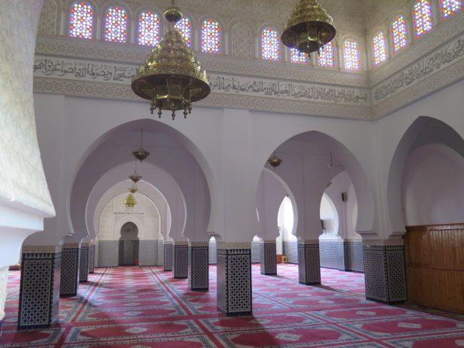 Mezquita Interior del Mausoleo de Moulay Ali Cherif