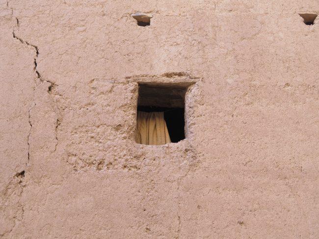 Las ventanas exteriores se construían para impedir ataques
