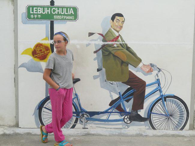 Increíble mural de Malasia