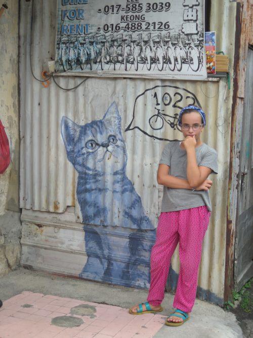 Representaciones artísticas de gatos