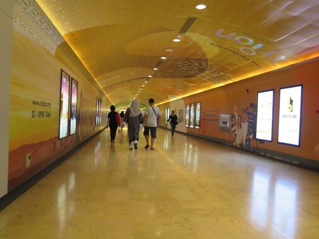 Pasajes subterráneos de Kuala Lumpur