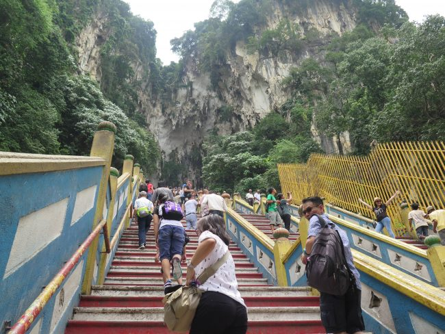 Escaleras Batu Caves