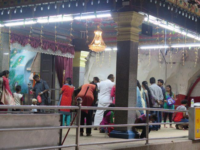 Templo hindú más importante fuera de la Inda