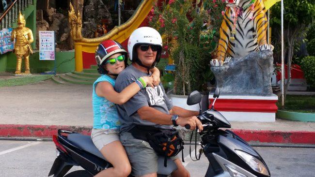 Precios de las motos de alquiler en Tailandia