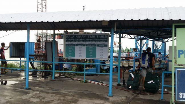 Horarios Ferry Koh Phangan