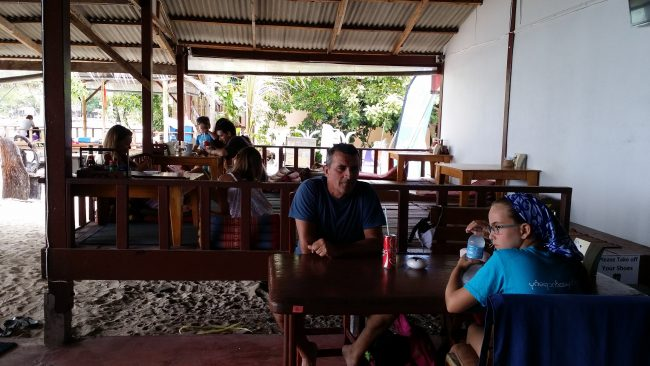 Comer en Koh Phangan