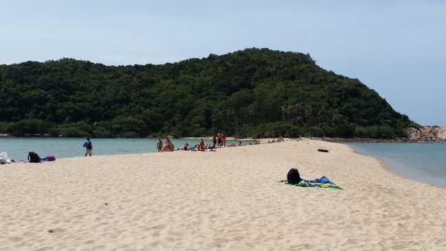 Playa de Mae Haad en Koh Phangan