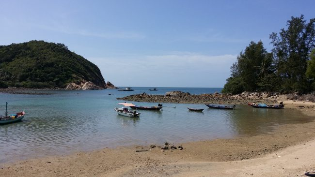 Playas al Norte de Koh Phangan