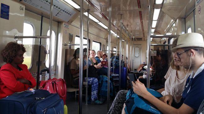 Trenes en Malasia