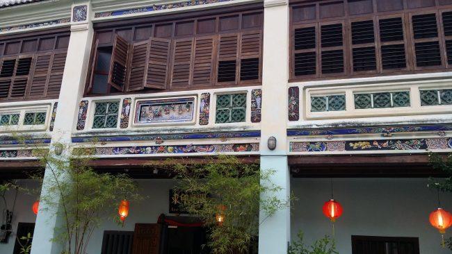 Casas típicas Penang
