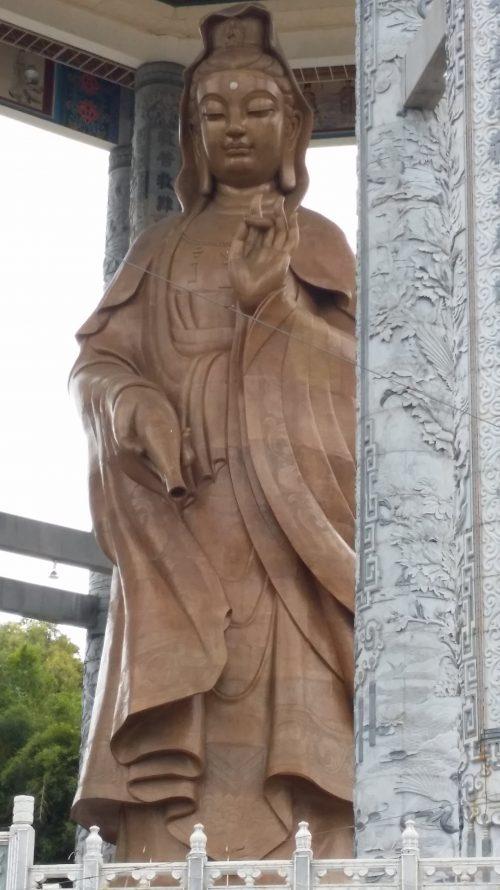 Diosa que preside el Templo de Kek Lok Si