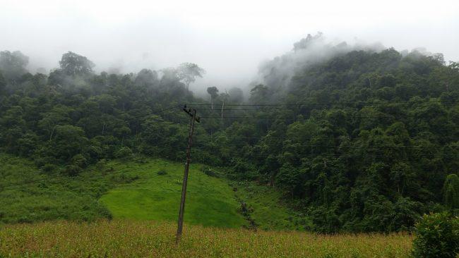 Niebla en Laos