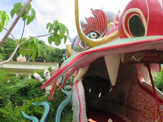 Templo del Dragón en Tailandia