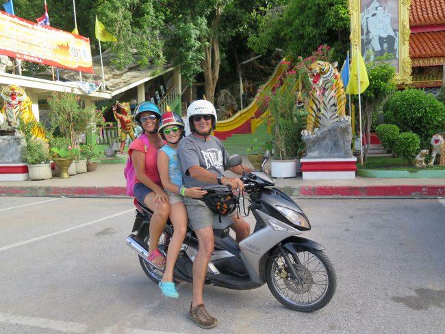 Conducir en Tailandia