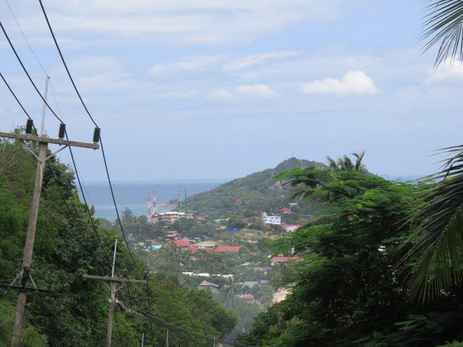 Vistas de la Isla de Koh Phangan