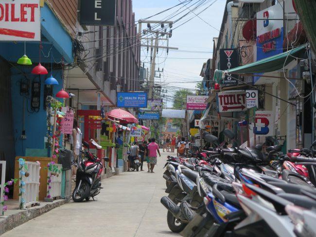 Moverse en moto por Tailandia