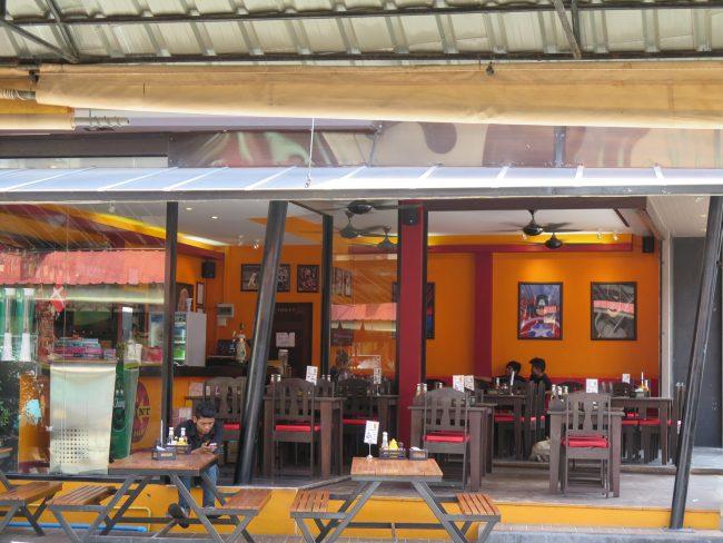 Restaurantes de comida rápida en Koh Phangan
