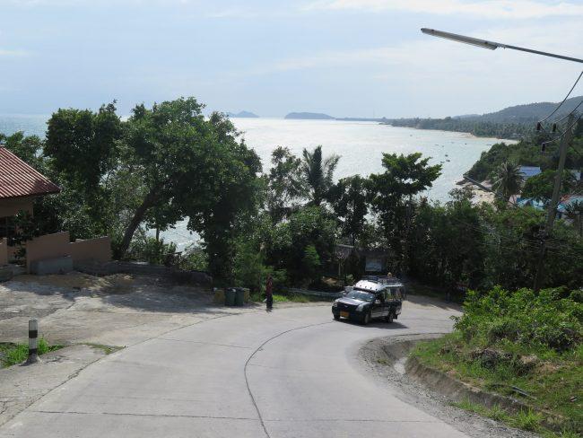 Carreteras de Koh Phangan