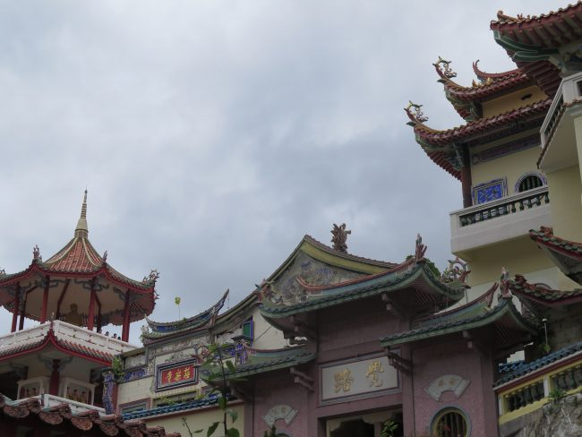 Templo construído aplicando las técnicas del feng shui