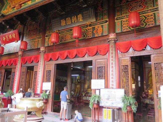 Capillas chinas en Kek Lok Si