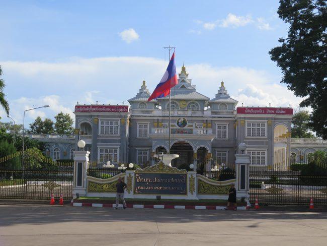 Palacio Presidencial en Laos