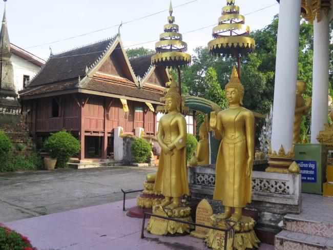 Monasterio en Vientiane