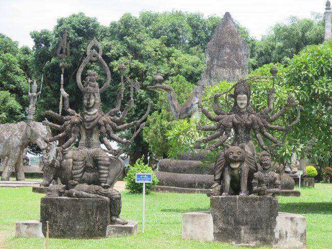 Representaciones dioses hindúes