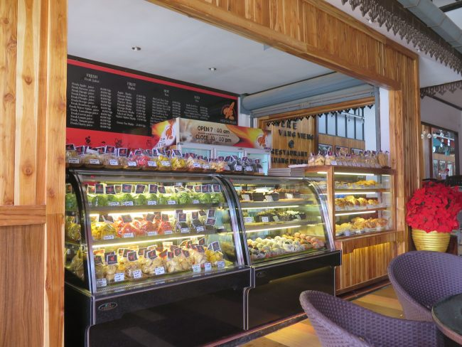 Pastelería en Vang Vieng