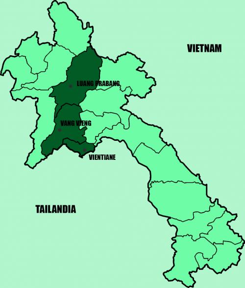 Itinerario Laos El Mundo con Ella