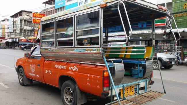 Cómo ir de la Estación al centro de Kanchanaburi