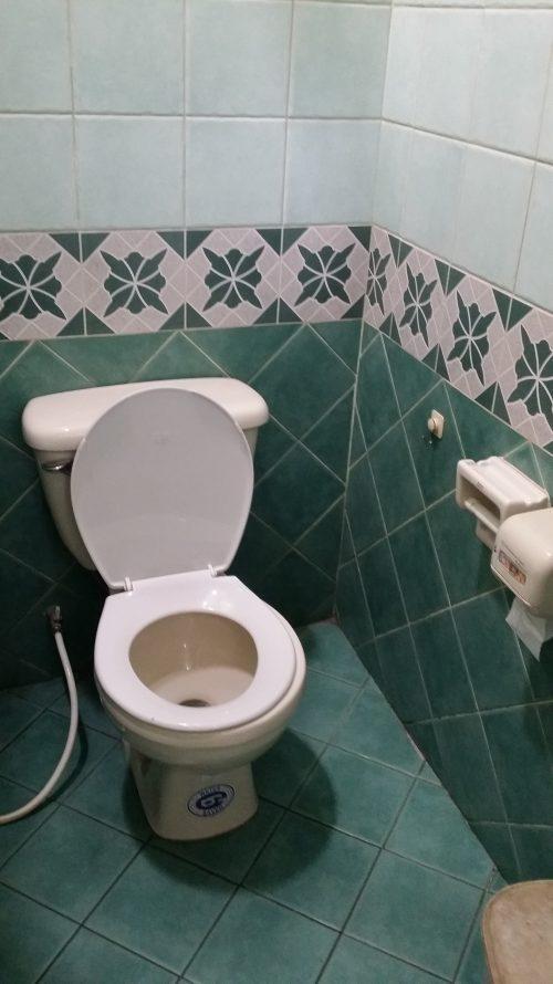Váter muy limpio en Chiang Mai