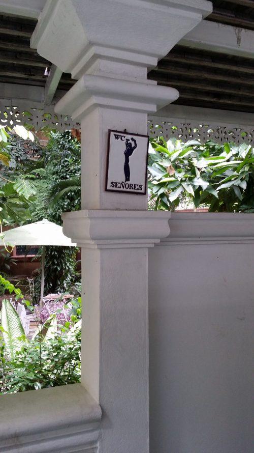 WC en Chiang Mai