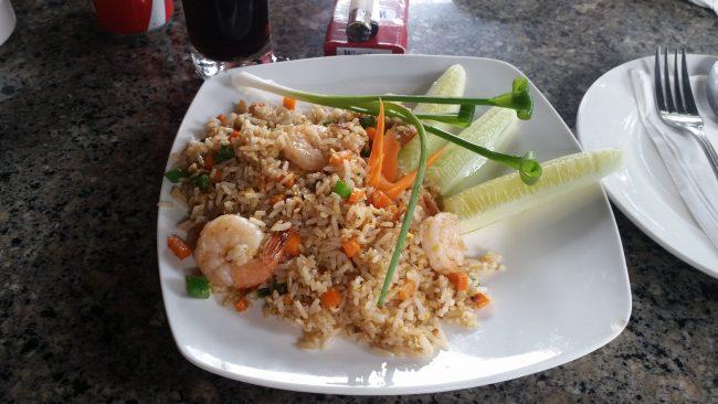Comida en Laos