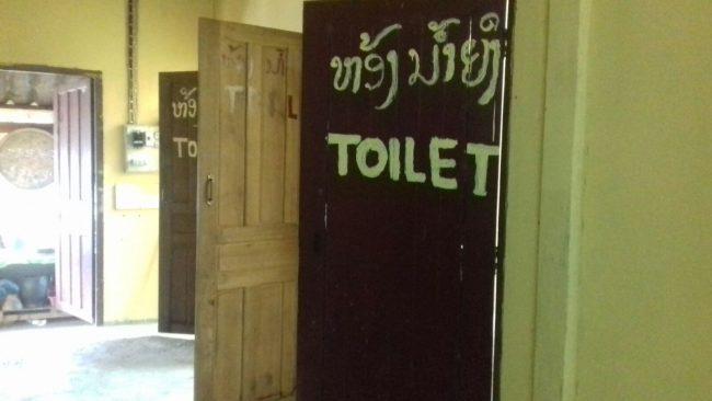 Dónde mear en Laos