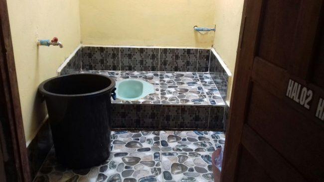 Higiene de los baños en Laos