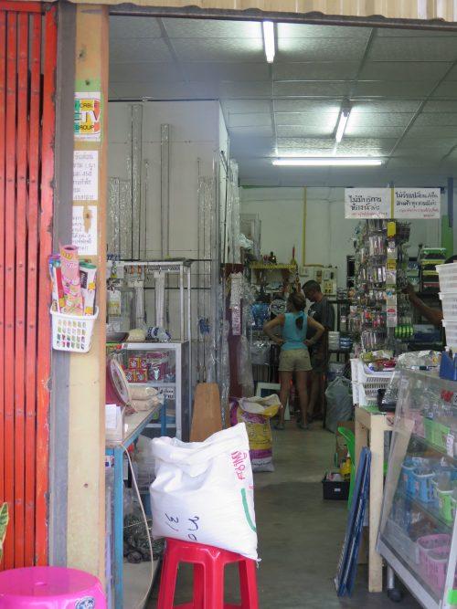 Compras en Tailandia