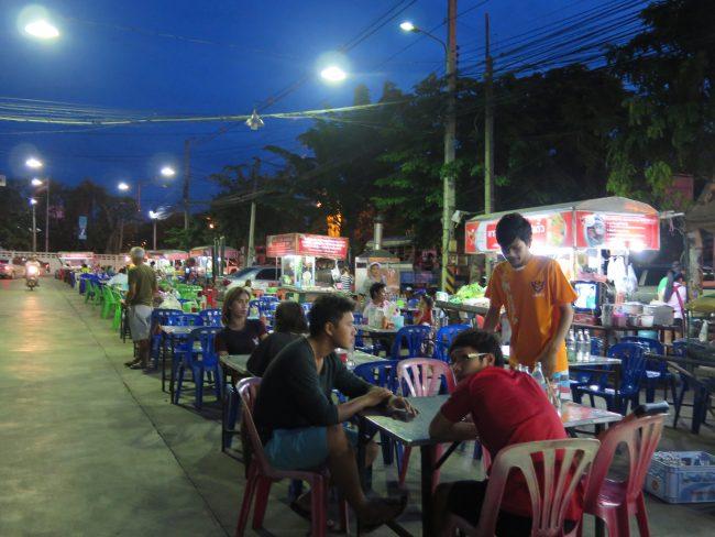 Sitios baratos para cenar en Kanchanaburi