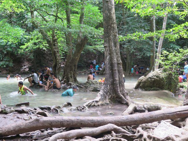 Cómo ir a las Cascadas Erawan