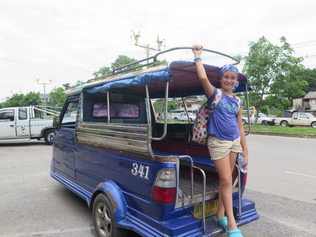 Cómo moverse en  Ayutthaya