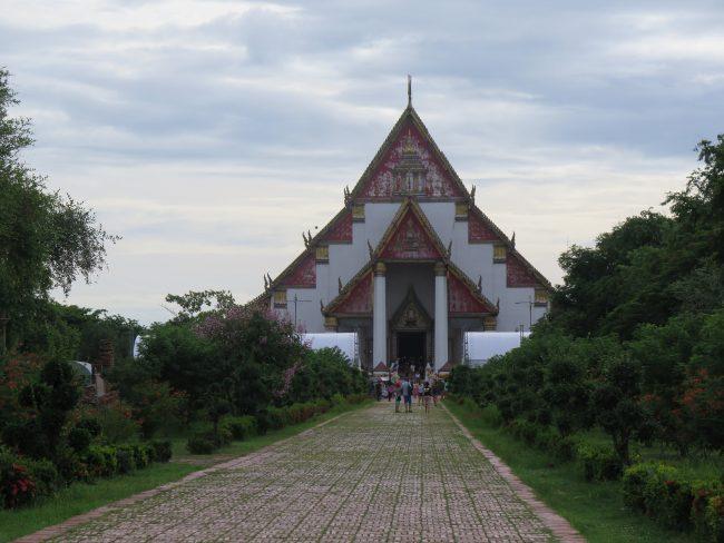 Principal templo de  Ayutthaya