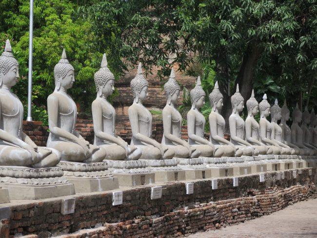 Famosos Budas de  Ayutthaya