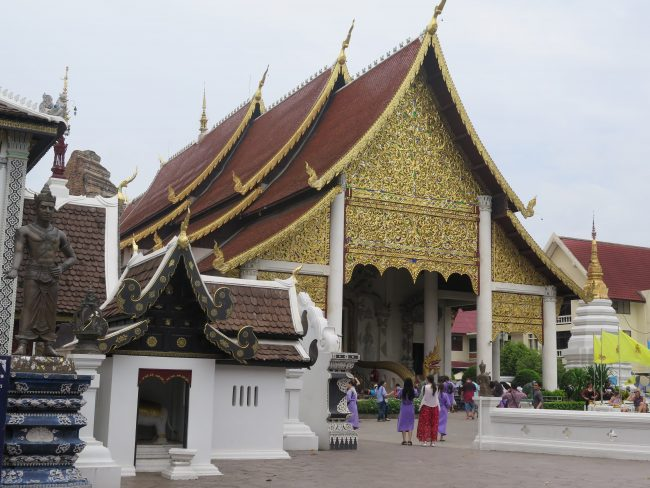 Principal Templo de Chiang Mai