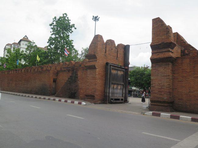 Principales Puertas de las Murallas de Chiang Mai