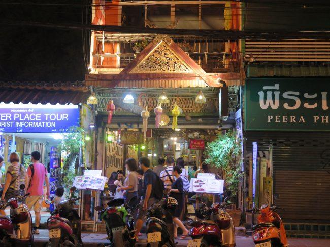 Mercdos de Chiang Mai Fin de Semana