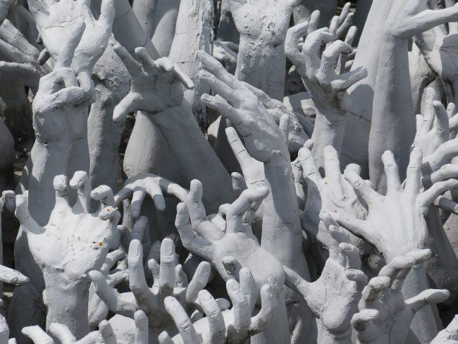 Impresionantes esculturas del Templo Blanco