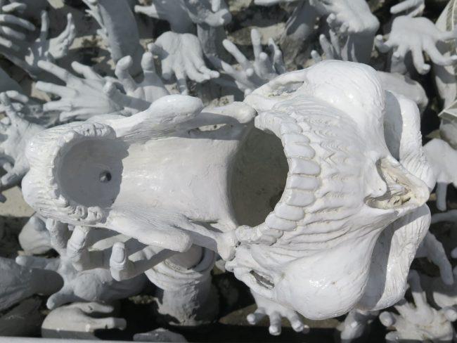 Esculturas inquietantes