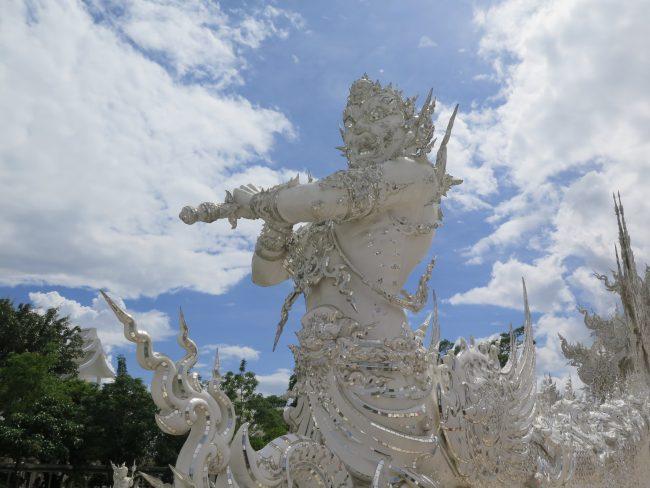 Simbolismo del Templo Blanco de Chiang Rai