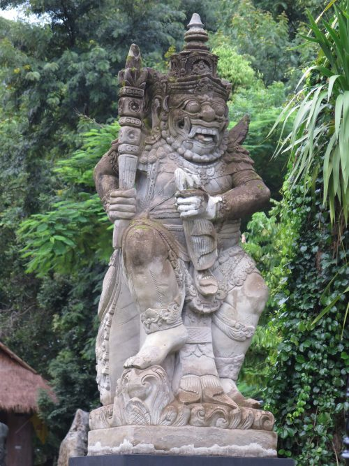 Esculturas balinesas de Tailandia