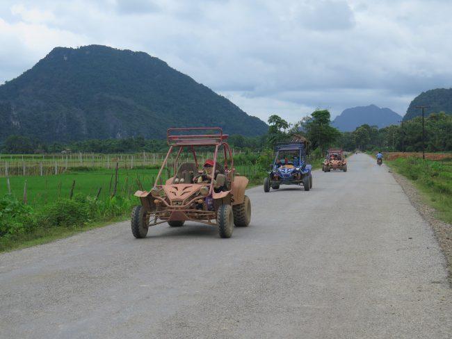 Alquiler de motos en Vang Vieng